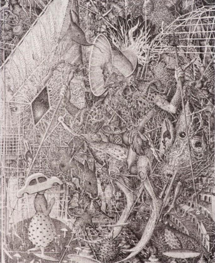 Výstava Mikoláš Axmann: Sítnice/grafika, malba