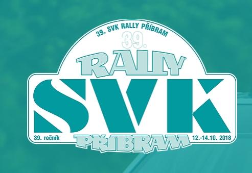 39. SVK Rally Příbram 2018