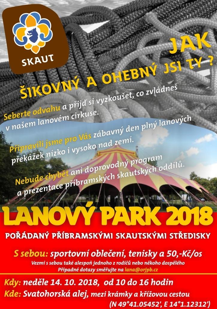 Lanový park 2018