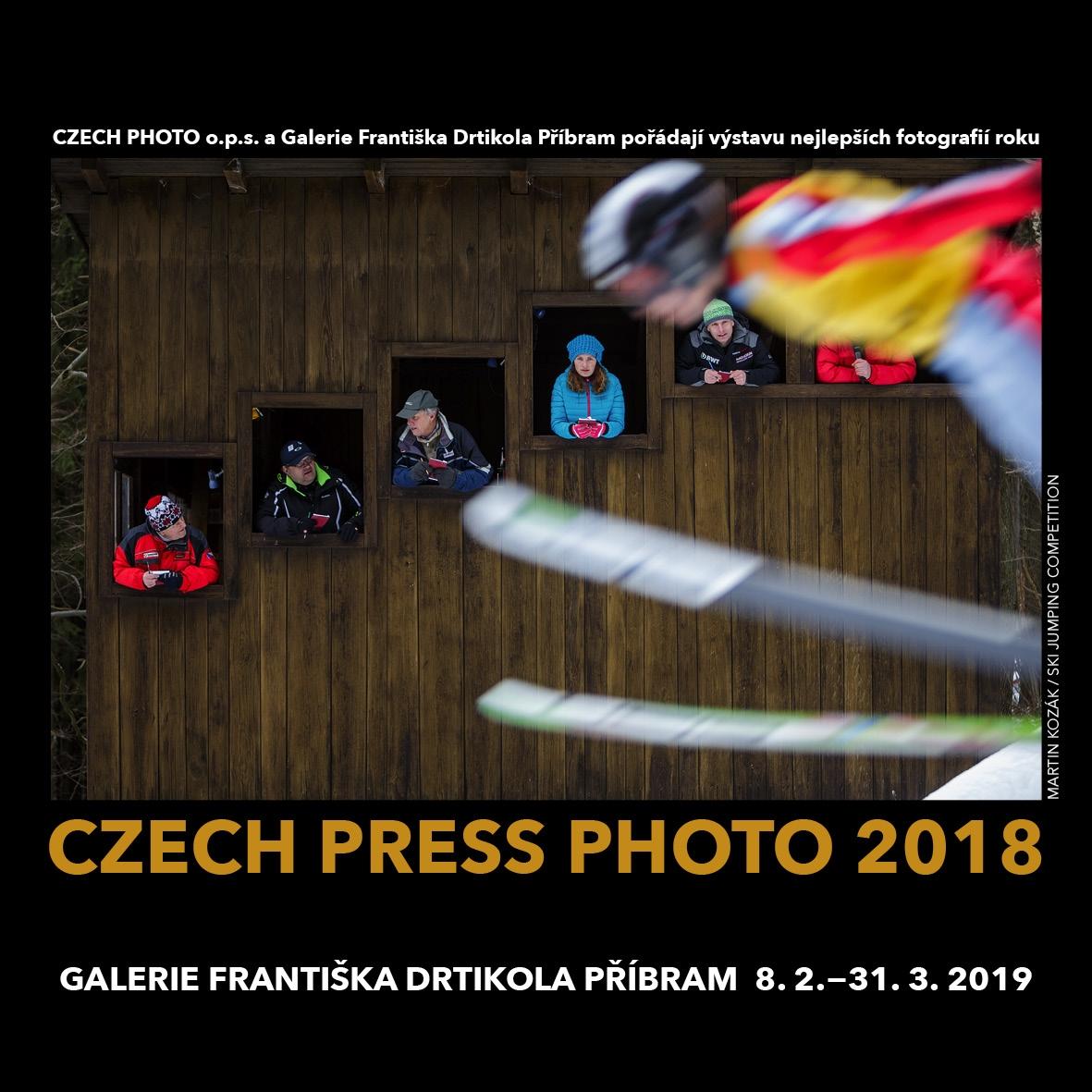 Vernisáž výstavy Czech Press Photo 2018