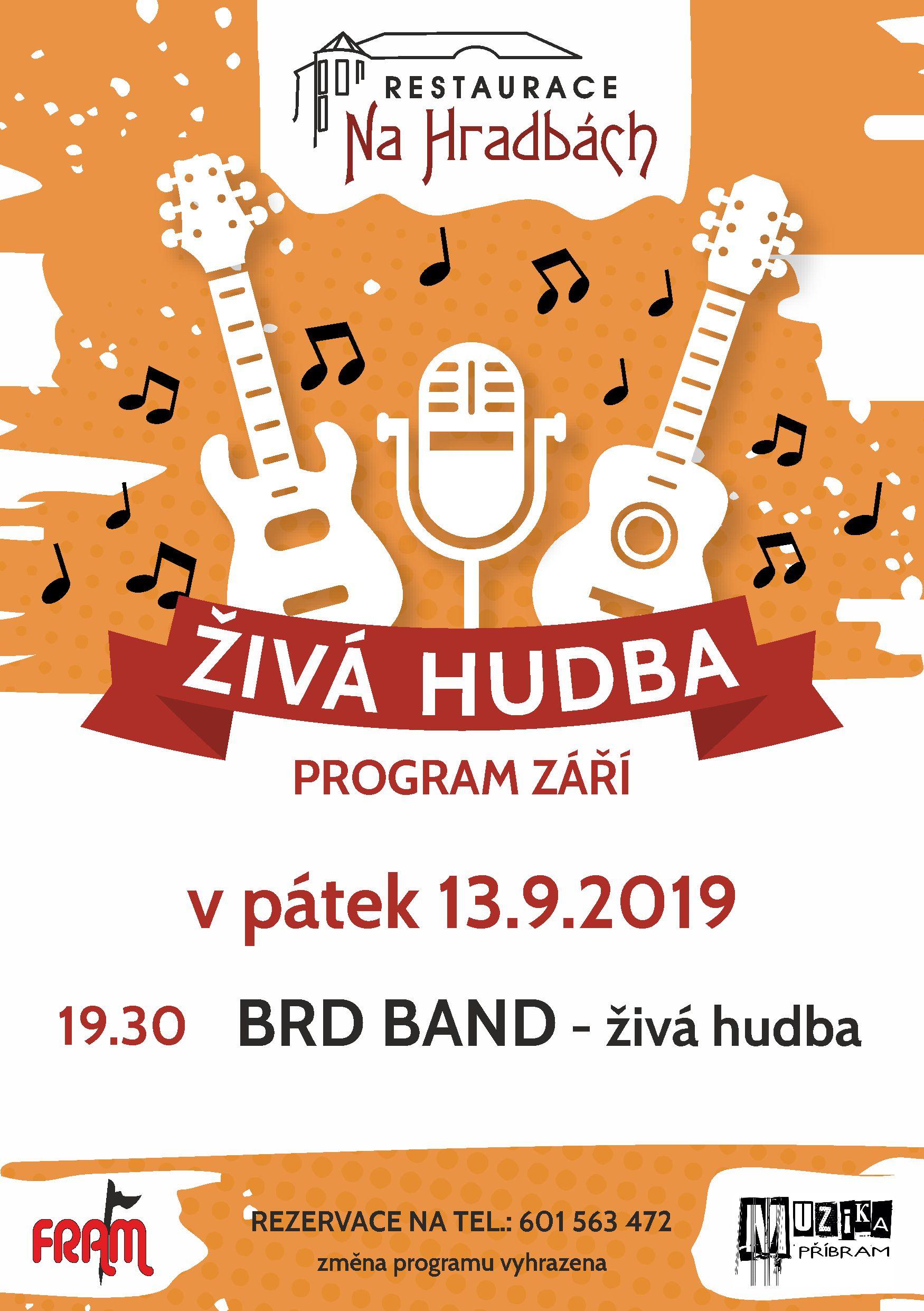 Živá hudba - Brd Band