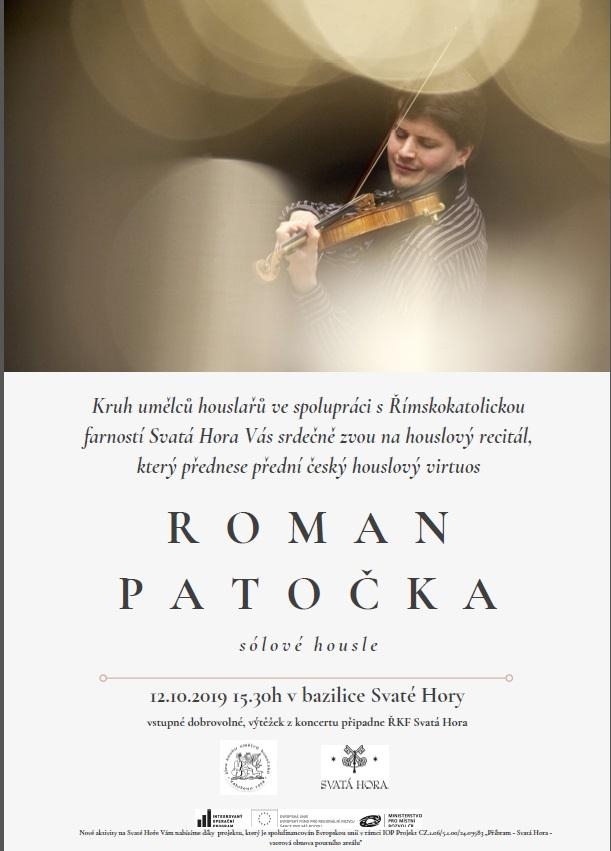 Roman Patočka - houslový recitál