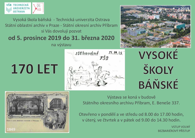 Výstava: 170 let Vysoké školy báňské