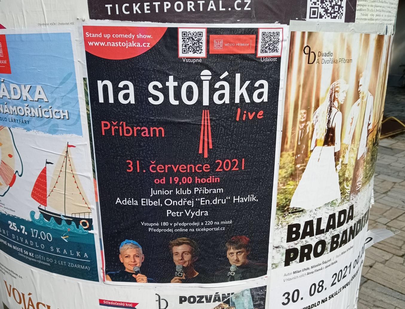 Na stojáka - Stand up comedy show