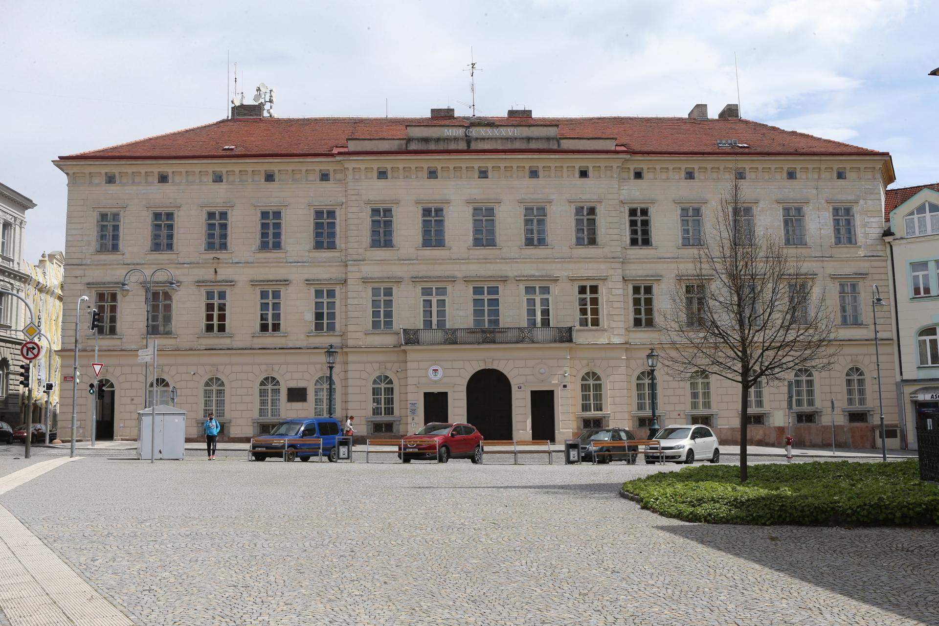Báňské ředitelství - prohlídka budovy