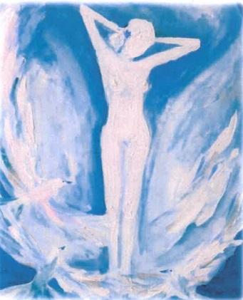 Na křídlech - výstava obrazů Petry Bouška Kvapilové