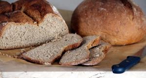 Chleba nakrájený