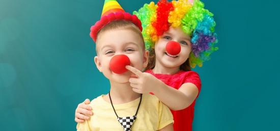 Karneval s klaunem Hugem