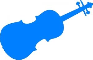 Modre - housle