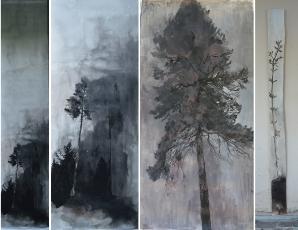 Noční stromy Krajcova