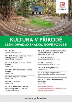 Plakát  -  Lesní divadlo NOVÉ