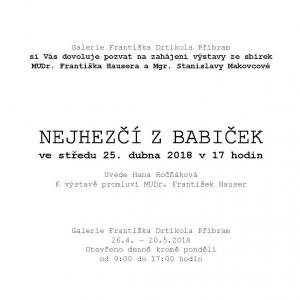 Pozvanka - babicka - stranaB
