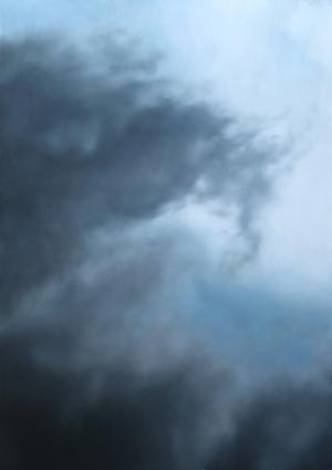 Vichrová - Petra - Mraky II -  2006 - olej na plátně