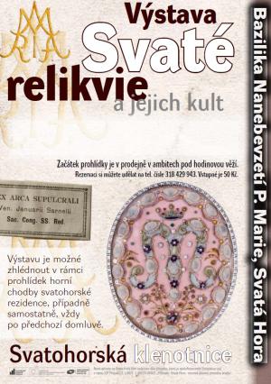 Vystava - svate - relikvie
