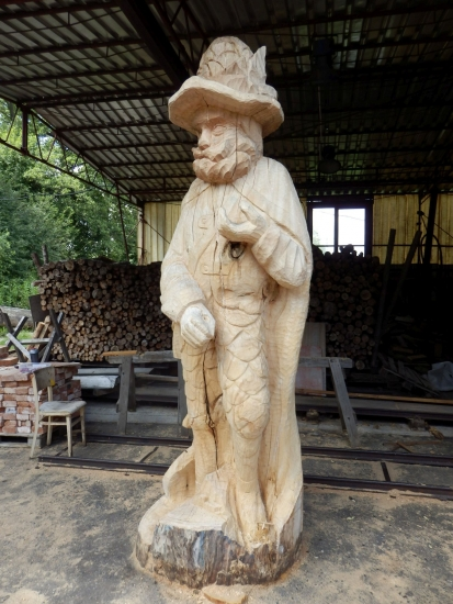 V září odhalíme sochu Fabiána, rytíře brdských lesů